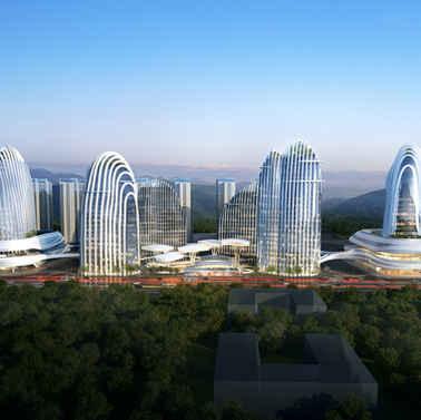 深圳龙岗城市更新商业综合体