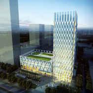 石家庄市轨道交通运营指挥中心概念方案设计