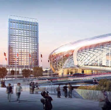 青岛高新区国际          会展中心