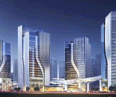 深圳龙岗产业总部大厦