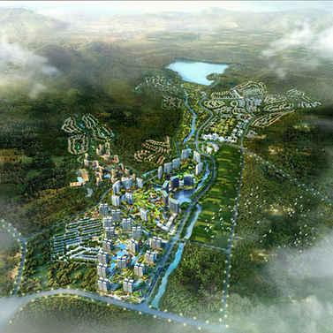 三亚半岭温泉整体规划