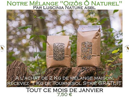 """""""Oizôs Ô Naturel"""" - Mélange de graines pour oiseaux"""