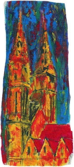 """56. Vedran Žanko, """"Katedrala"""",  60x25 cm"""