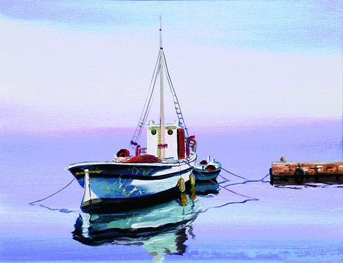"38. Nenad Marasović, ""Trawler"" 40x52 cm"