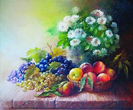 "12. Sonja Pintar, ""Das Obst"" , 40x48 cm"