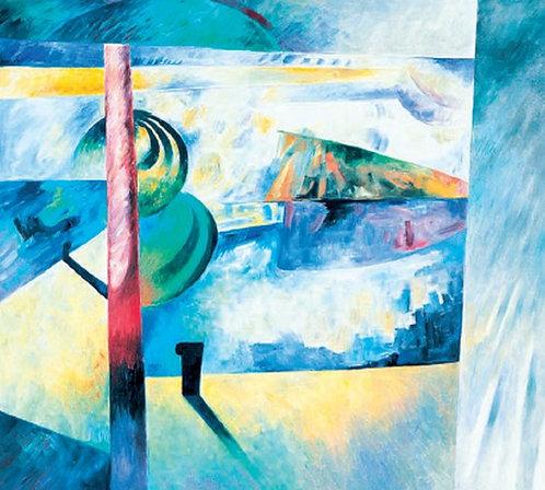 "59. Zlatko Živković, ""Die Landschaft"", 40x44 cm"
