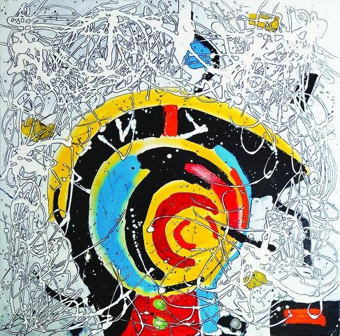 "27. Peter Pierre Weisz, ""Imaginary Landscape"""