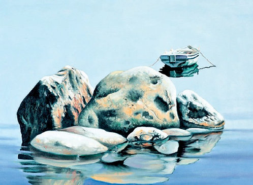"103. Nenad Marasović, ""Die Meeresstille"", 40x54 cm"