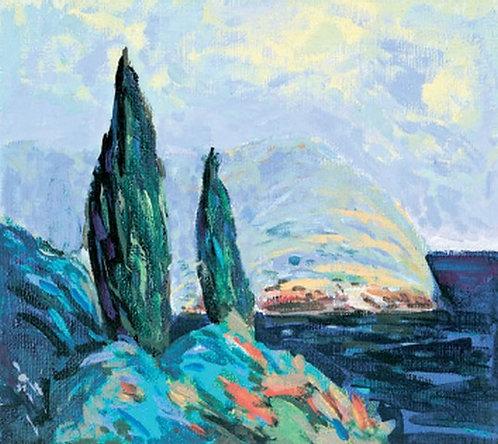 """76. Niko Ančić, """"Daybreak"""", 40x45 cm"""