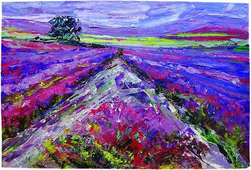 "78. Blaženka Zvonković, ""In a World of Lavender"""