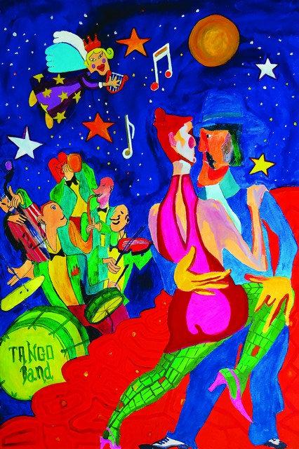 """51. Ranko Marton, """"Tango"""" , 60 x 40 cm"""