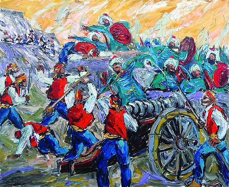 "44.Vladimir  Vrljić Ankin, ""Battle of Sinj"""