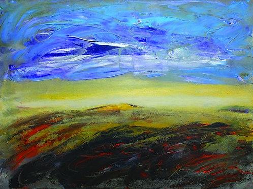 """82. Siniša Križanec, """"Der Himmel"""", 40x53,5 cm"""