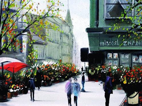 """14. Nenad Marasović, """"Cvjetni dani"""", 40x50 cm"""