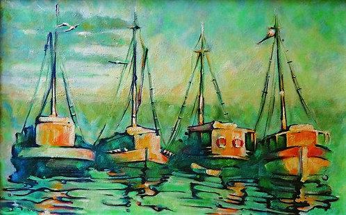"7. Stjepan Đukić Pišta, ""Das Meer und die Fischerb"