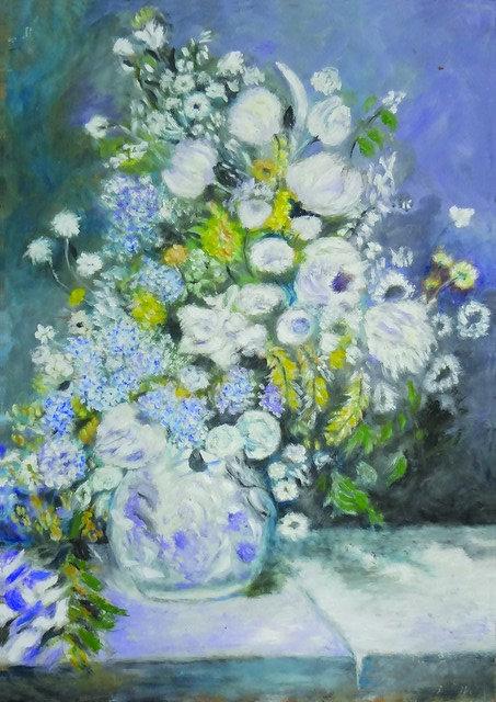 "16. Katarina Došilović, ""Flowers"", 53,5x38 cm"