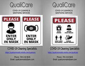 2020 QualiCare Maids Covid 19  Poster .j