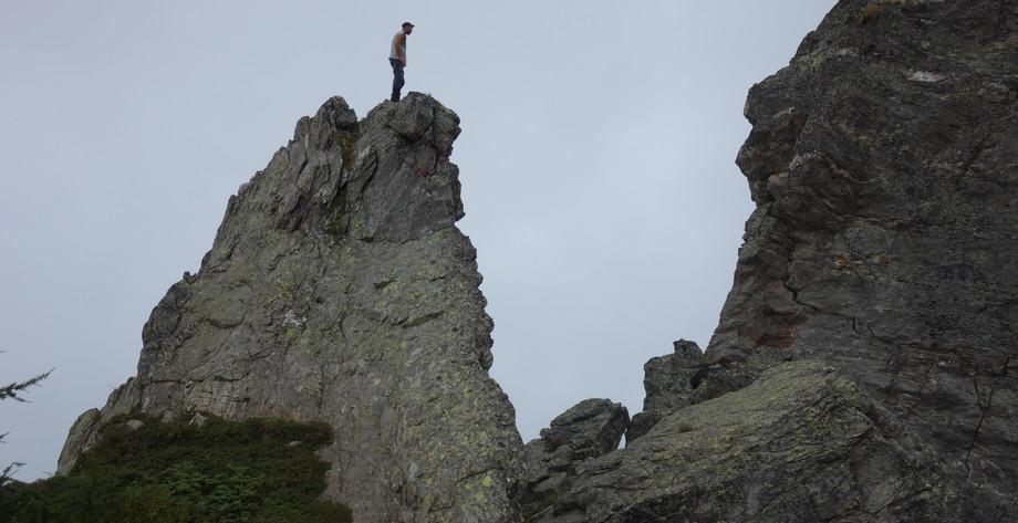 Klettern auf Corwetsch