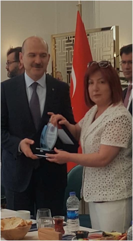 İçişleri Bakanımız Sayın Süleyman SOYLU.