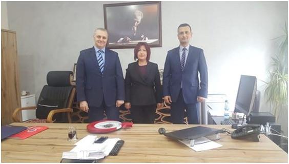 Gazi Emniyet Müdürü Mustafa Oğuz ve Gazi