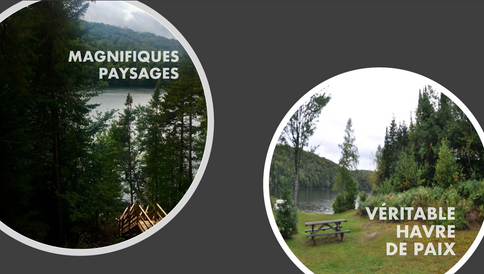 Domaine Tremblant-Quenouille - paix, bonheur, tranquilité