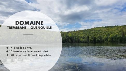 Domaine Tremblant-Quenouille - Montagne
