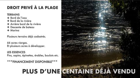 Domaine Tremblant-Quenouille - Plage