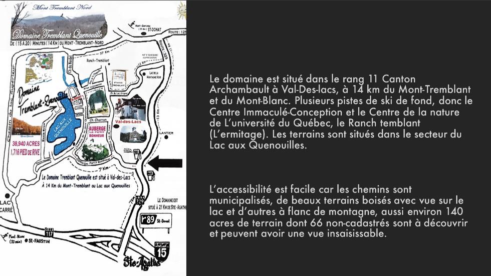 Domaine Tremblant-Quenouille - Mont-Tremblant