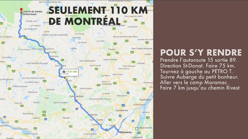 Domaine Tremblant-Quenouille - Près de Montréal
