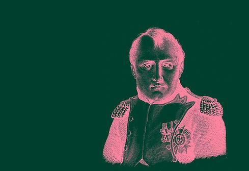 Projet d'affiche pour l'expo Napoléon à La Villette
