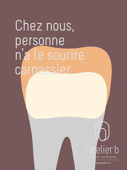 10 belles affiches pour un cabinet de dentiste avec la nouvelle identité visuelle