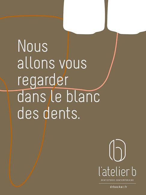 Affichette publicitaire avec des illustrations réalisées par Call me 4 eyes.