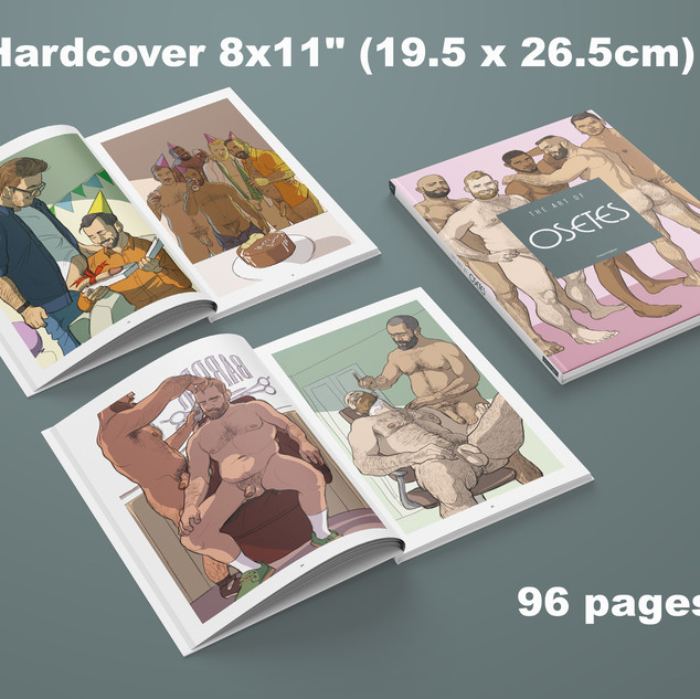 """Hardcover 8x11"""" 96 Pages"""