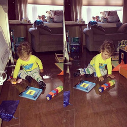 Could this little Curio Kid be any sweeter_ Repost_ First thing he did this morning was play with hi