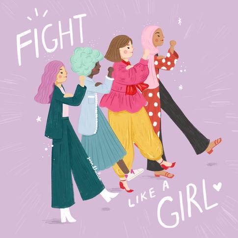 Illustration for International Women's Day 2020