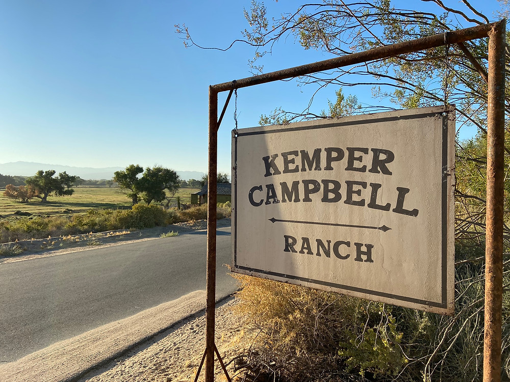 """Kemper Campbell Ranch sign designed by """"Mank"""" team"""