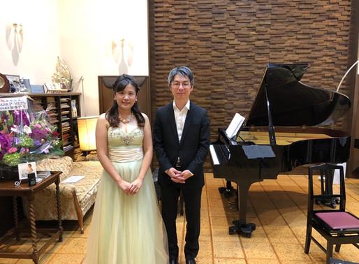 チェロとピアノのコンサート