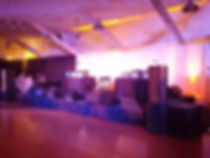 Portable sound system rental for small stage at festival. We provided sound reinforcement for multiple stages.