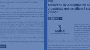 MAAC en las noticias nacionales e internacionales.