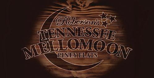 ETD Mellomoon Moonshine Wood License Plate