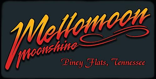ETD Mellomoon Moonshine Neon License Plate