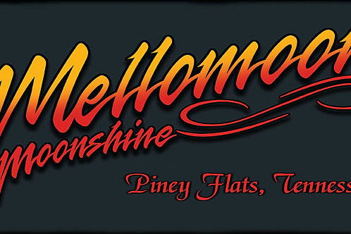 ETD Mellomoon Moonshine Neon License Plate