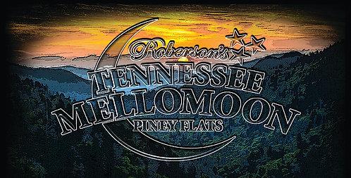 ETD Mellomoon Moonshine Sunset License Plate