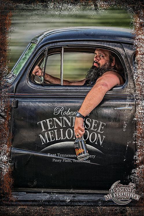 Tiny of Tennessee Mellomoon ETD on an Aluminum Sign