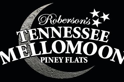 ETD Mellomoon Moonshine Black & Silver License Plate