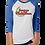 Thumbnail: Tennessee Mellomoon Moonshine Unisex 3/4 Sleeve Raglan Baseball