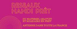 Réseaux Handi prêt France