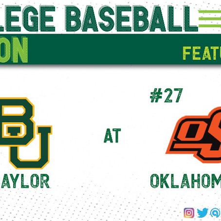 The Battle for the Bubble: Baylor at Oklahoma State