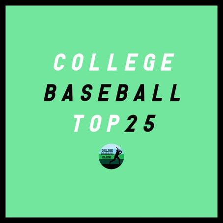 RANKINGS: Fall Preseason College Baseball Top 25