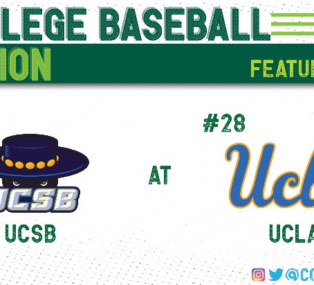 UCLA Comes From Behind to Take Series From UCSB